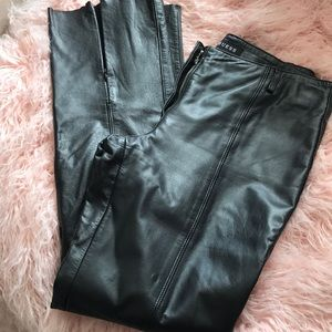 Guess leather pants